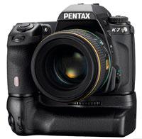 The new Pentax K-7 camera